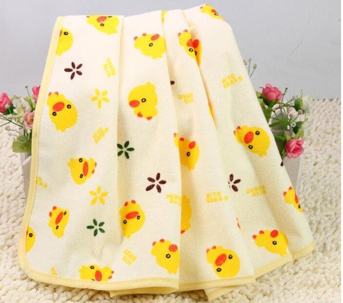 全新(60*80)全新黃色小鴨隔尿墊防水尿墊/嬰兒車防濕墊/遊戲墊/生理期/戒尿布的好幫手(加大中號款)