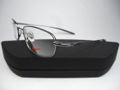 【信義計劃眼鏡】全新真品 NIKE 超輕運動眼鏡 金屬框 專利超彈性記憶金屬 超越 愛迪達 銳跑 Mizuno Fila