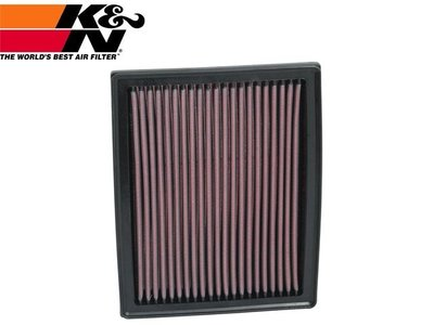 【Power Parts】K&N 高流量原廠交換型空氣濾芯 33-2914 BENZ B200 A180 A200