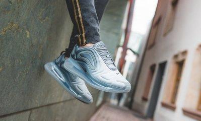 [飛董] NIKE AIR MAX 720 全氣墊 慢跑鞋 女鞋 AR9293 004 灰銀