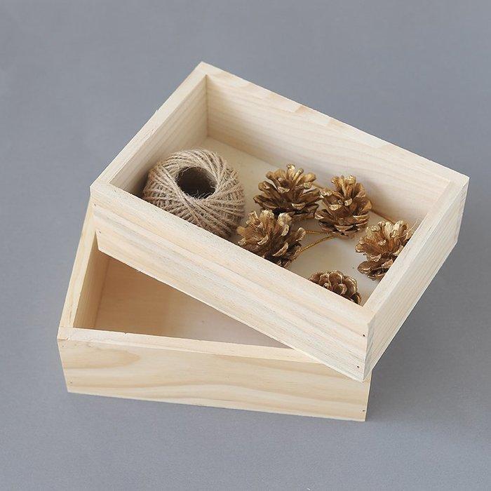 快樂的小天使--zakka木質桌面收納盒飯店號碼牌整理盒雜物盒 多肉植物花盆小木盒#收納-200起發貨