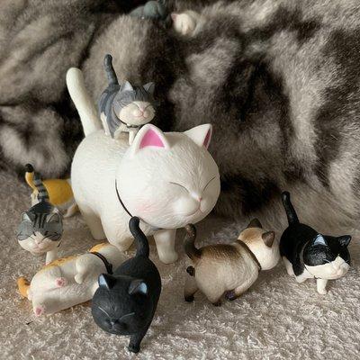 貓鈴鐺 貓咪蛋蛋 盒蛋 CAT BELLS 可愛 網紅拍攝爆款 擺設 手辦 公仔 設計師產品 大號12cm 小號3.5cm 一套全9種 可散買 節日禮物 順豐