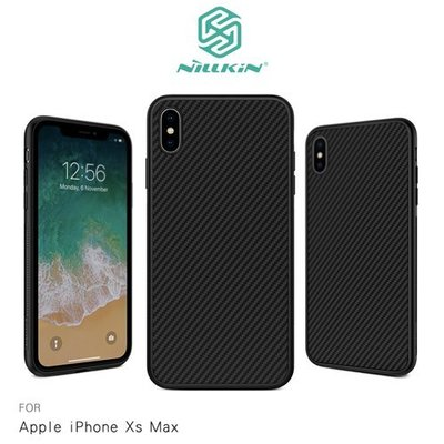 APPLE iPhone Xs Max NILLKIN 纖盾系列 硬殼 背蓋 碳纖維 保護殼 手機殼 背殼