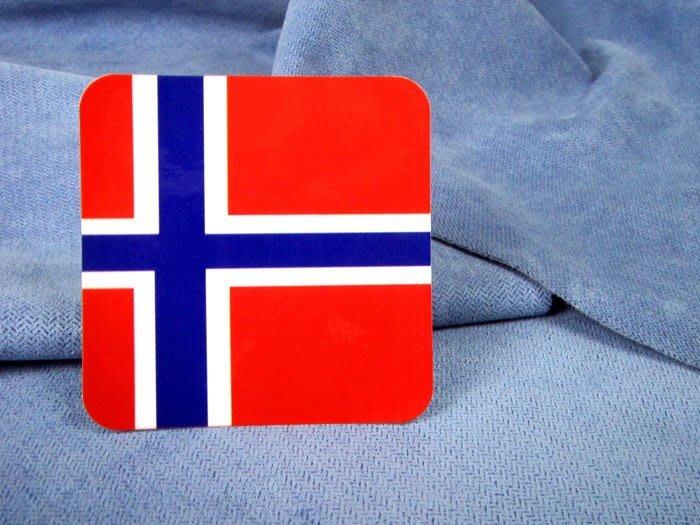 【衝浪小胖】挪威方形旅行箱貼紙/抗UV防水/登機行李箱/世界多國可收集訂製