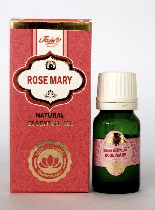 [綺異館]印度精油 迷迭香 10ml JAIN'S ROSEMARY 另售印度皂 印度香