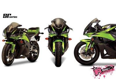 ♚賽車手的試衣間♚ Zero Gravity® Honda CBR600RR / ABS 07-12 SR款 風鏡