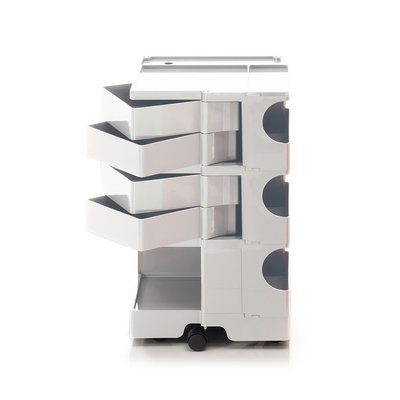 Luxury Life【正品】B-Line Boby 巴比 多層式系統 收納推車 - 高尺寸 (四抽屜收納) 白色款