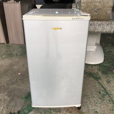【全國二手傢具】SAMPO聲寶 單門電冰箱SR-081/80L/單門冰箱/家用冰箱/二手家電/二手家具/小冰箱/宿舍冰箱