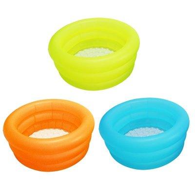 ☆夯健身夯休閒☆090103素色三層泳池 遊戲池 戲水池 游泳池 流線型設計~無毒環保