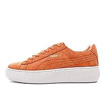 D-BOX  PUMA Suede Platform Gold 亮橙 板鞋 厚底 經典 復古 百搭
