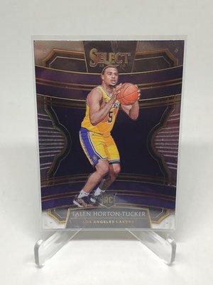 Talen Horton Tucker 19-20 Select Concourse (Lakers)RC 新人卡