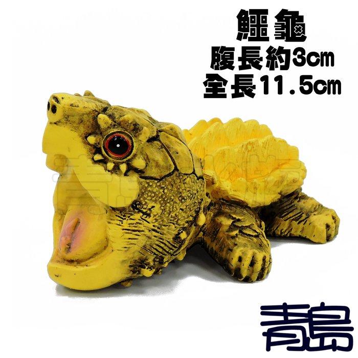 YU。。。青島水族。。。TQ-05手工原創 仿真陸龜模型 3D擬真模型 陸龜公仔 澤龜水龜烏龜 真鱷龜==Q版/大鱷龜