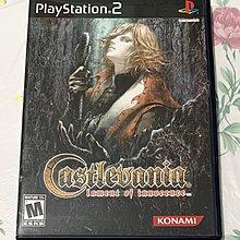 PlayStation 2(PS 2) 超好玩 惡魔城 無罪的嘆息 美版 英文版 CASTLEVANIA LAMENT OF INNOCENCE