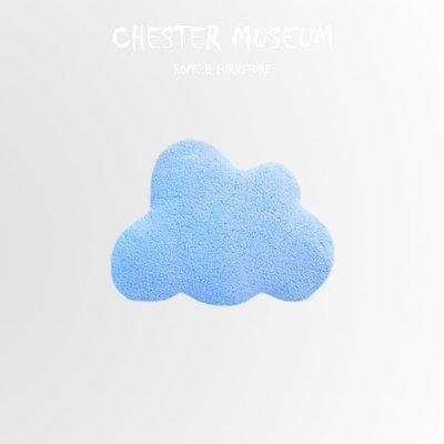 今天天氣真好 天空藍雲朵抱枕 雲朵抱枕 雲抱枕 羊羔絨抱枕 雲朵 抱枕 雲 抱枕 靠墊 坐墊 玩偶 INS風