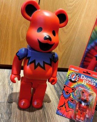 收藏釋出 BE@RBRICK Grateful Dead Dancing Bears 100% & 400% nike