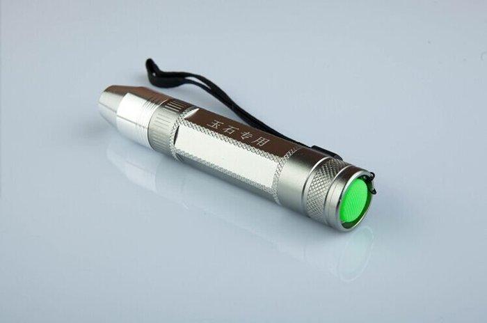 正品神火Q5 照玉石專用强光手電筒〈全配套裝〉 鑒定玉石珠宝翡翠赌石〈白光〉