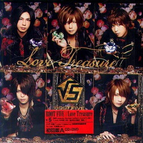 【出清價】Love Treasure(CD+DVD初回版A) / √5-AVJSG40731A