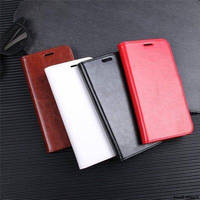 Small Shop✲  適用于LG G20潮新款8S THINQ瘋馬紋翻蓋皮套手機殼G8S THINQ插卡保護套軟手機殼手機套保護殼保