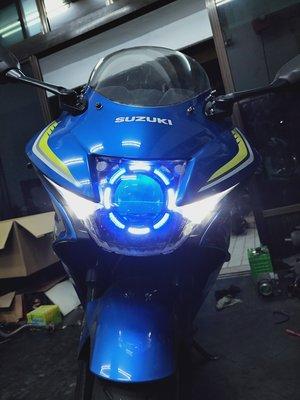 GSX150R N1 星爵 遠近 LED 魚眼