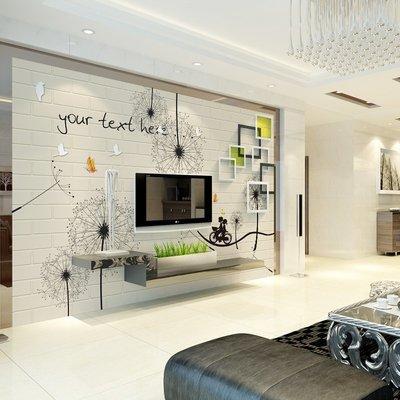 @飛貓小鋪 3d電視背景墻壁紙現代簡約客廳家用無縫墻布5d裝飾墻紙8d立體壁畫