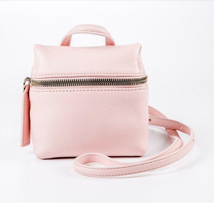 KARA Micro Leather Satchel(Pink 粉色)
