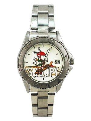 【卡漫迷】  史奴比 手錶 ㊣版 史努比 滑板 日期功能 男錶 女錶 對錶 Snoopy 1 4 8 0元