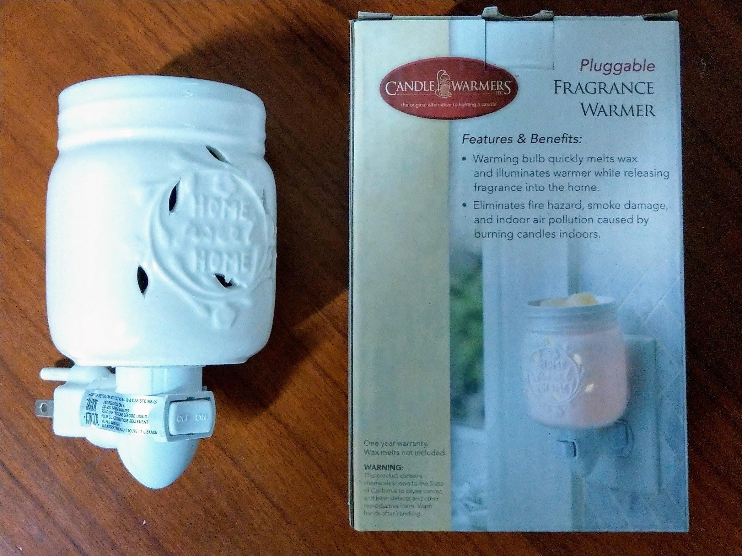 (實物實拍) 香氛溶蠟壁燈 - 梅森罐