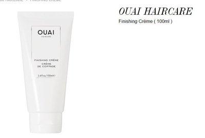 ※美國代購-潔潔小屋※ OUAI HAIRCARE Finishing Crème 免沖洗護髪乳-100ml