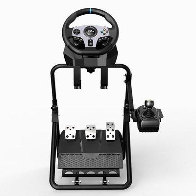 萊仕達A9游戲方向盤支架 G27 G29 GT500 T300RS托架腳踏 折疊支架