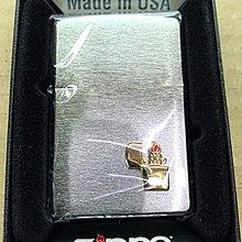 《潮流本舖》正品ZIPPO 髮絲紋 立體LOGO 燃油打火機 煤油打火機