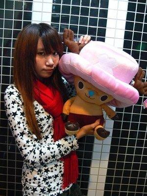 鳳山娃娃工坊♣超大喬巴娃娃~正版◈海賊王◈ 生日七夕禮物 航海王喬巴娃娃