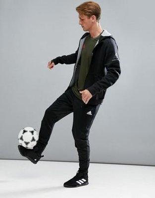 [預購] adidas Tango Soccer Track Pants 黑色長棉褲 顯瘦 透氣 彈性