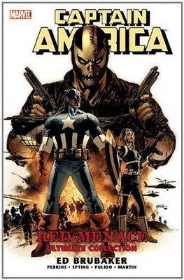 【布魯樂】《代訂中》[美版書籍]Captain America: Red Menace [(9780785156178)
