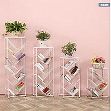 樹形書架(4層$198 包送貨)-多尺寸.簡易兒童鐵藝桌上樹形書櫃兒童書架繪本架多層學生創意落地置物架