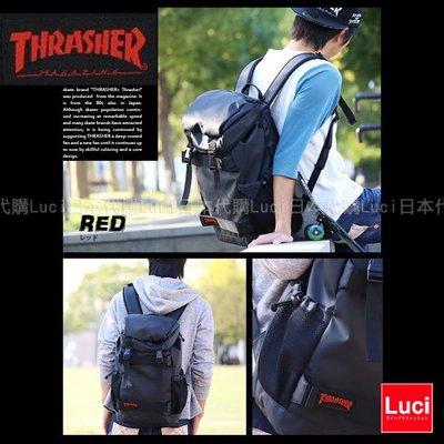 THRASHER 紅Logo 後背包 ...