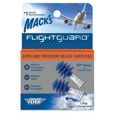 美國 Mack's 飛行耳塞 飛機耳塞 避免耳痛 20835