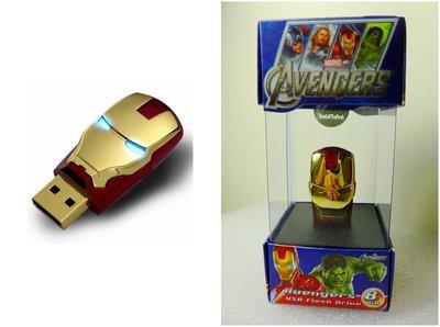 【全新現貨】 8G 復仇者聯盟 鋼鐵人 隨身碟 馬克6號 USB 8GB 訊想科技 MARVEL MARK VI