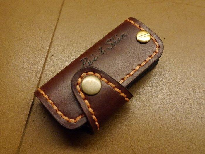 (KH手工皮革工作室)純手作豐田TOYOTA CHR適用晶片感應鑰匙皮套量身訂製升遷 畢業 紀念日 生日禮物