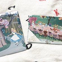 日本製 - 迪士尼愛麗絲厚身硬卡明信片 Disney Alice in wonderland Vintage postcard