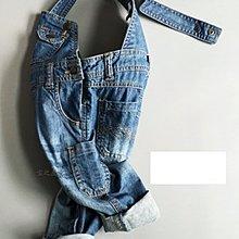 2016新款dkny背帶褲吊帶褲男女童牛仔吊帶褲寶寶檔可全開~現貨1801~