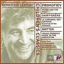 【美版】聖桑:動物狂歡節 普羅高菲夫:彼得與狼 / 伯恩斯坦 Leonard Bernstein --SMK60175