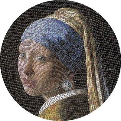 2019帛琉馬賽克系列3-戴珍珠耳環的少女銀幣(已售罄)