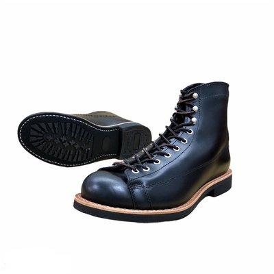 (義大利 黑跟咖啡 41~46)  進口牛皮純橡膠底 牛皮厚底靴 Lone Wolf 及 Danner 改良版