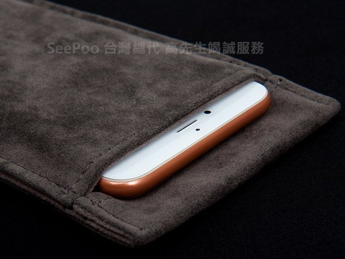 【Seepoo總代】2免運 絨布套Huawei華為 Y9 Prime 2019 絨布袋手機袋 深灰 咖啡 手機套保護袋