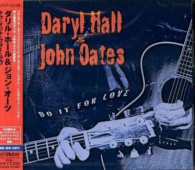 K - Daryl Hall & John Oates - Do It For Love 日版 +1BONUS  NEW