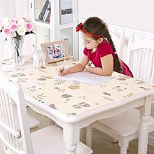 軟玻璃加厚PVC桌布防水防燙塑料台布餐桌墊茶幾墊膠墊透明水晶板 【1件免運】
