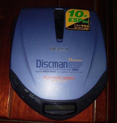 SONY D-E305 Discman Esp CD隨身聽  /2手