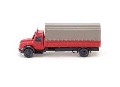 傑仲(有發票) 博蘭 公司貨 WIKING Fire serv – lowbed lorry Mag 096501 N