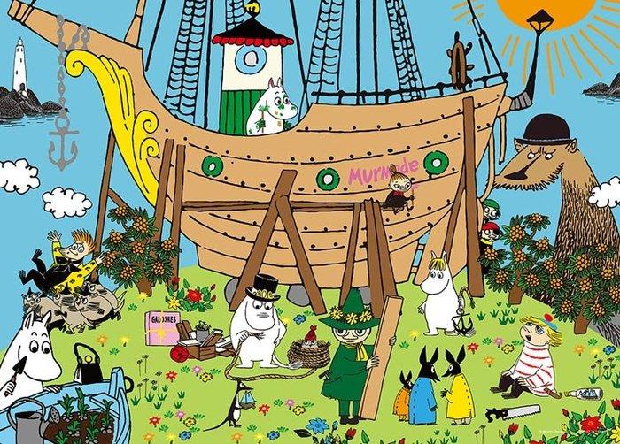 拼圖專賣店 日本進口拼圖 05-1030(500片拼圖 嚕嚕米 造船)