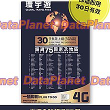 4G/3G剛果30日無限上網卡 3HK環宇遊漫遊數據卡 電話卡 Sim卡